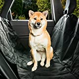 Back Seat Car Cover For Dogs With Hammock For Pet Safety Quilted For Comfort And Waterproof For Upholstery Protection
