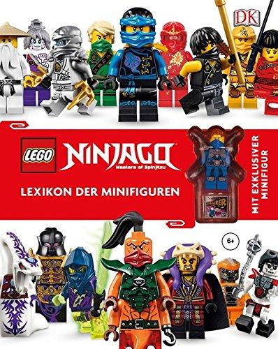 LEGO® NINJAGO®  Lexikon der Minifiguren: Mit exklusiver Minifigur - Partnerlink