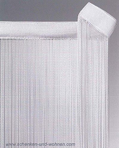 Fadengardine Paneele Flächenvorhang 60 x 250 cm weiß