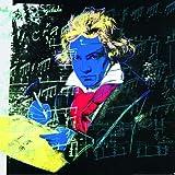Kunstdruck / Poster Andy Warhol - Beethoven blue - 59 x 59cm - Premiumqualität - Klassische Moderne, Amerikanische Kunst, Pop Art, Portrait, People & Eros, Persönlichkeiten - MADE IN GERMANY - ART-GALERIE-SHOPde