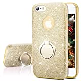 Miss Arts Coque iPhone Se, Coque iPhone 5S / 5, Coque Silicone Paillette Strass...