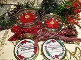 Frohe Weihnachten Weihnachten Star Bowl mit Soja Wachs Weihnachten Düfte und ätherische Öle