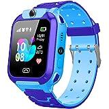 Happy Cherry - Orologio Telefono Bambino Ragazza Ragazzo Smartwatch Bambini Orologi intelligenti multifunzione GPS Touch SOS