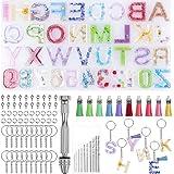 ZSooner Hars Mold Kit Starter Craft Epoxy Sleutelhanger Handgemaakte Accessoires Hanger Sieraden maken Achteruit DIY Casting