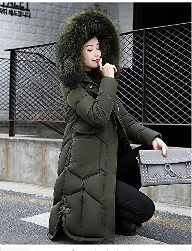 WTUS - Hiver - Chaud - Manches Longues- Manteau - Femme Vert