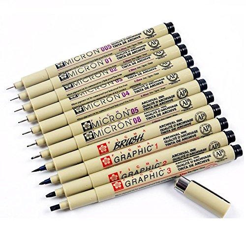 Pigma Micron fine linea penna 005 01