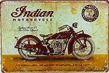 American motos anciennes vintage metal Sign mural pour Drink Bar Pub Cafe Home décor mural affiche...