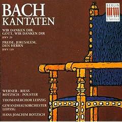 Wir danken dir, Gott, wir danken dir, BWV 29: Recitative: Vergiss es ferner nicht (Alto)
