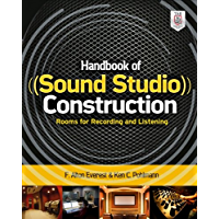 Handbook of Sound Studio Construction: Rooms for Recording and Listening (English Edition)