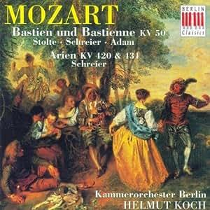 Mozart: Bastien und Bastienne KV 50 (Gesamtaufnahme)