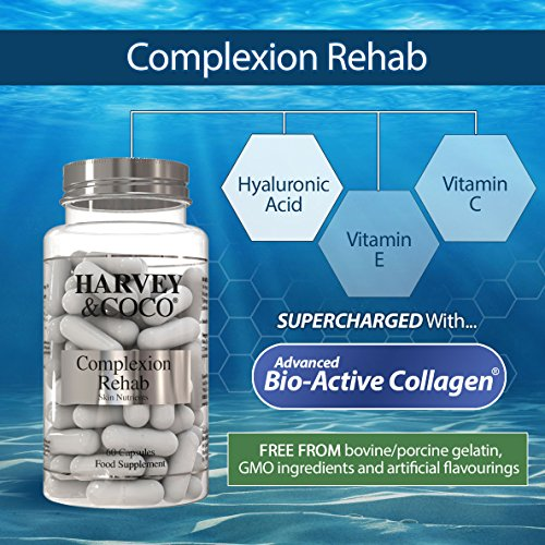 Collagen, Hyaluronic Acid, Vitamin C & E Skin Care Supplement For Women & Men
