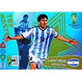 FIFA World Cup 2014 Brazil Adrenalyn XL Lionel Messi Top Master