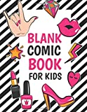 Blank Comic Book For Kids: Large Print - 8.5'x11' - 108 Pages - Gift For Kids Over 100 Comic Template - Drawing Your Own Comic Notebook Journal - Vol.4: Blank Comic Book For Kids