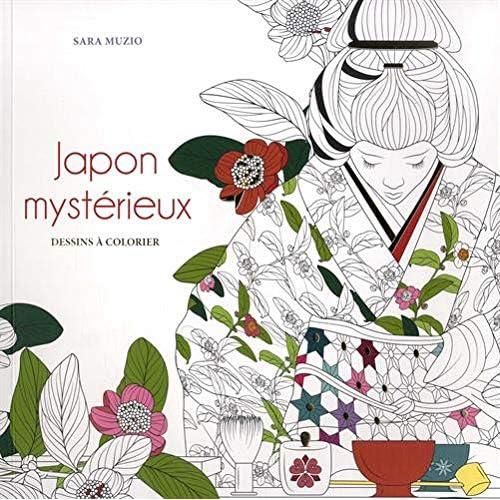 Japon mystérieux - Dessins à colorier