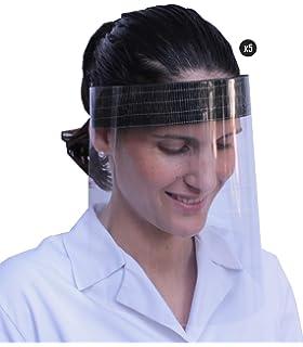 /écran de protection du visage transparent Coota Lot de 10 protections de visage de s/écurit/é /œil de protection protection de la visi/ère visi/ère de protection
