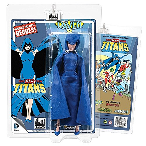 The New Teen Titans Retro 8 Inch Action Figures Series 1: Raven by DC Comics