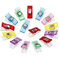 50pcs merveille clips quilting accessoires multicolore goupilles de quilting clips en plastique pinces pour la…