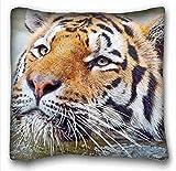 Custom Baumwolle & Polyester Weich (Tiere Bears Paare Cubs Walk) Custom Baumwolle & Polyester Weich Rechteck Kissen Schutzhülle 40,6x 40,6cm (eine Seite) geeignet für twin-bed pc-bluish-2388, Seide, Muster 10, European