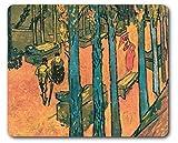 1art1 88790 Vincent Van Gogh - Les Alyscamps, Fallende Blätter, 1888 Mauspad 23 x 19 cm