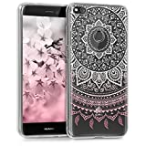 kwmobile Hülle für Huawei P8 Lite (2017) - TPU Silikon Backcover Case Handy Schutzhülle - Cover...