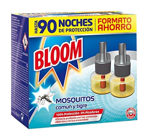 Recambio Bloom Electrico Líquido contra mosquitos común y tigre