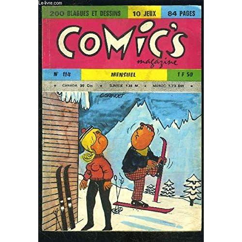 COMICS MAGAZINE N°114- 200 BLAGUES ET DESSINS- 10 JEUX