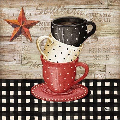 Leinwandbild Coffee I