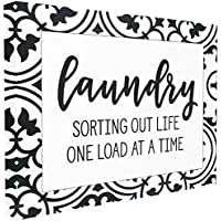 Stupell Industries Sorting Out Life Laundry Oversized Stretched Canvas Wall Art, Proudly Made in USA, Multicolour, 60.96 x 3.81 x 76.2 cm preiswert