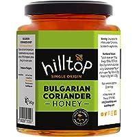 Hilltop Bulgarian Coriander Honey Jar - Single Origin | 100% Pure & Natural Honey | Hive To Home | Dark Amber Colour…