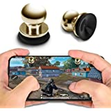 BKN® Mini Fire Metal Button Gaming Controller Trigger Aim Key L1 R1 Shooting Fit for Call of Duty COD, PUBG, Knives Out…
