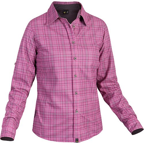 SALEWA Damen Bluse Molignon PL W Long Sleeved SRT türkis