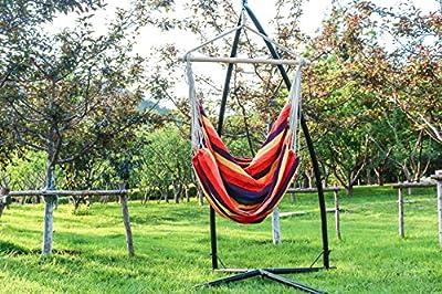 Sunsmile Hängesessel Hängestuhl Hängematte rainbow von Sunsmile - Gartenmöbel von Du und Dein Garten