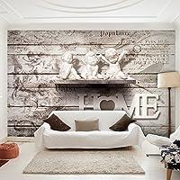 Decomonkey | Fototapete Gemälde 350x256 Cm XXL | Design Tapete |  Fototapeten | Vlies Tapeten |