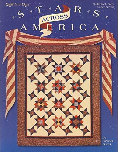 Stars Across America (Quilt Block Party, Ser. No. 7.)