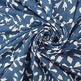 Verkauft von Yard Indigo Blau Gemüse gefärbt Hand Block