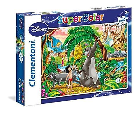Clementoni - 24739.4 - Puzzle - Peter Pan Et The Djungel book - 2 en 1 - 40 Pièces