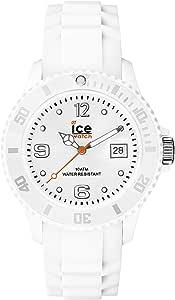 Ice-Watch ICE Forever White, Orologio Bianco con Cinturino in Silicone