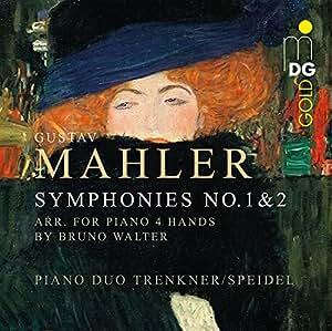 Symphonies 1 et 2 Transcription Piano