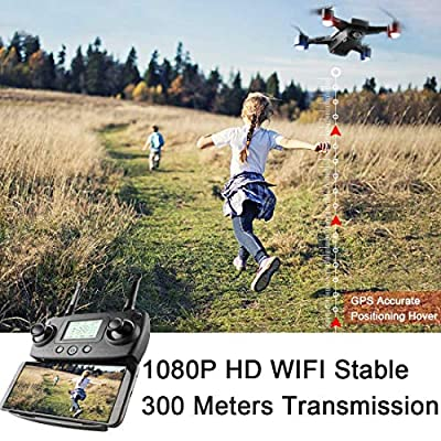 Hotbird Mini Drone with Camera,Interactive Toy for Kids HD Wide Angle Camera Headless Altitude Hold Mode Mobile APP Control