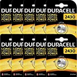 Vconcal (TM) 10 x DURACELL 2430 LITHIUM Knopfzelle CR2430 Knopfzelle 3v Batterie