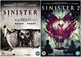 Complete Sinister 1-2: Sinister / Sinister 2 DVD Collection + Special Features: Deleted Scenes + The Making of Sinister + Feature Commentary with Director Ciarán Foy + Sinister Home Movie competition winning short film by Elliot Maguire