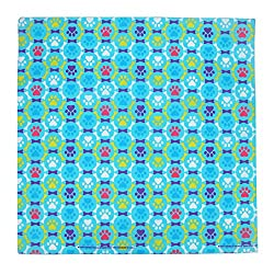 CTM Puppy Paws Print Bandana from CTM