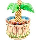 Folat 20568 Opblaasbare palm om te koelen, meerkleurig