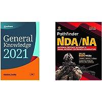 General Knowledge 2021 + Pathfinder NDA/NA National Defence Academy & Naval Academy Entrance Examination 2020 (Set of 2…