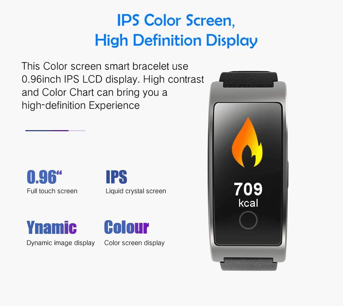 SPORS Fitness Tracker cinturón Impermeable Ritmo cardíaco presión Arterial sueño Monitor podómetro Reloj Inteligente… 4