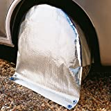 Unbekannt Hindermann Radschutzhülle mit Sonnenreflektion Reisemobile Reifengröße, 33536