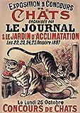 Carnet ligné ligné Exposition et concours de chats...