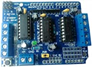 Arduino Motor Shield 4 Channel L293D H-Bridge Dc Motor Control Support PWM