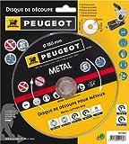 Peugeot 801180 - Disco da taglio per ferro, per troncatrice da ferro ENERGYCut 180MC, diametro 180 mm, 1280 W