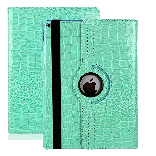 iPad Air hülle, Avril Tian 360 Grad drehbar Magnetisch Ständer Slim Bildschirm Schutz Smart Schutzhülle Case Mit Auto Sleep Wake Funktion Cover für Apple iPad Air 9.7 Zoll Tablet (Air Case Apple Leder Ipad Slim)
